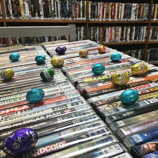 Make sure you drop into the Rowdy to get your mitts on books/DVDs/magazines to make your Easter that much sweeter  open until 7pm!