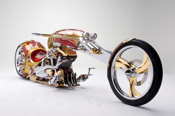 Nehmesis: Custom Yamaha Road Star Chopper