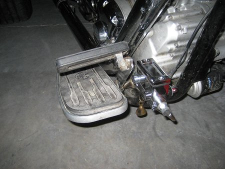 Yamaha Road Star with Harley Master Cylinder - Front2