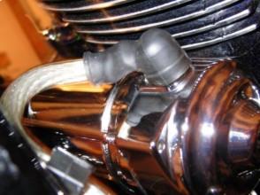 Warrior starter installed in Yamaha Road Star