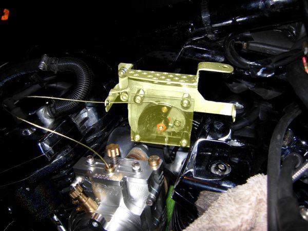 yamaha road star, tps driver, throttle position sensor, bracket