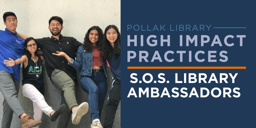 Fall 2018 SOS Library Ambassadors