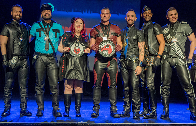Leather Alliance's Mr. SF Leather 2019 & SF Bootblack contests