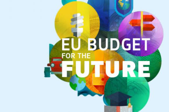 Graphic for the EU's long term budget