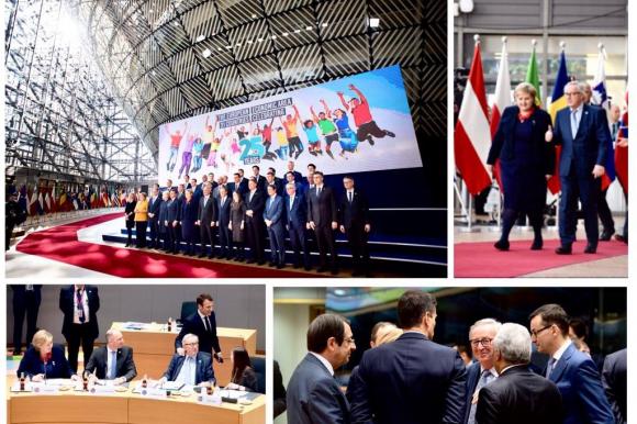 President Juncker at the European Council