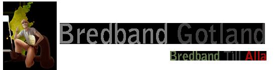 Logo Optic fiber to all houses on Gotland, Sweden