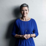 A picture of Commissioner Margrethe Vestager