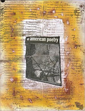 wallscrawls of american poetry yelloworane w installtion in center