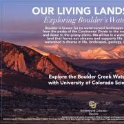 Boulder Creek watershed exhibit