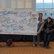 Artist doodle with NNA team