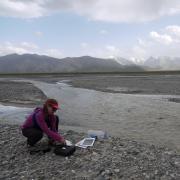 Alice Hill in the Karyn River Basin, Kyrgystan.