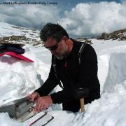 Snow survey on NWT Ridge
