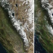 Earth Observatory Image of the Sierra Nevada Snowpack