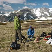 Scientists on Niwot Ridge