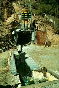 Adit, Richmond Mine, CA
