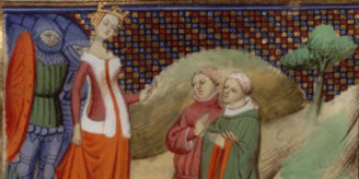 Image of Queen Isabella of England.