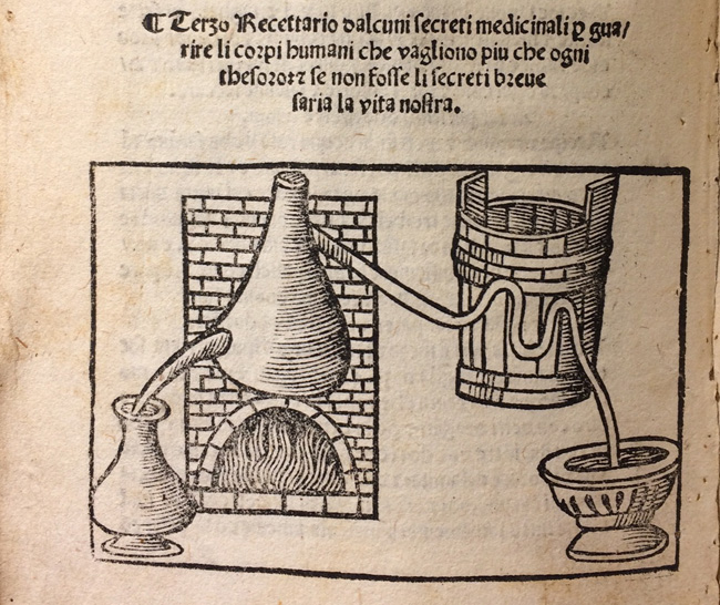 Image of alchemical ovens.