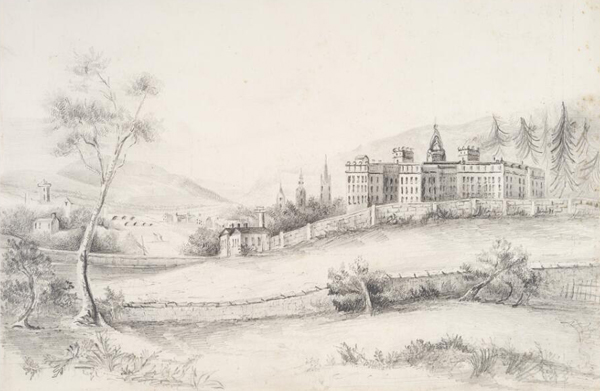 Sketch to Crichton Royal Institute