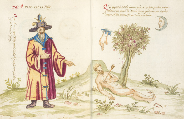 Image from an alchemical manuscript