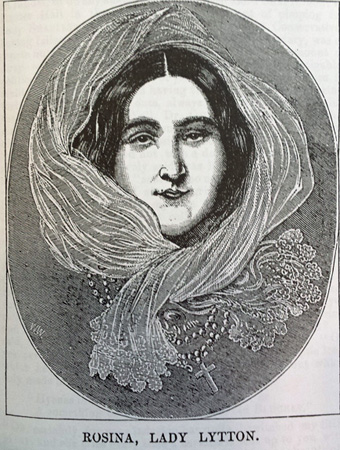 Rosina Bulwer Lytton, from 'A Blighted Life', 1880.
