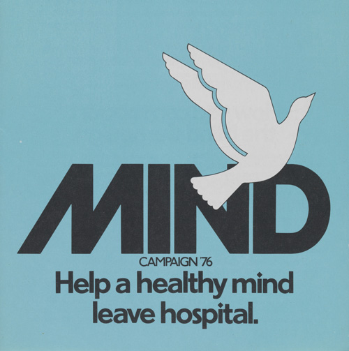MIND mentalhealth charity promotion poster