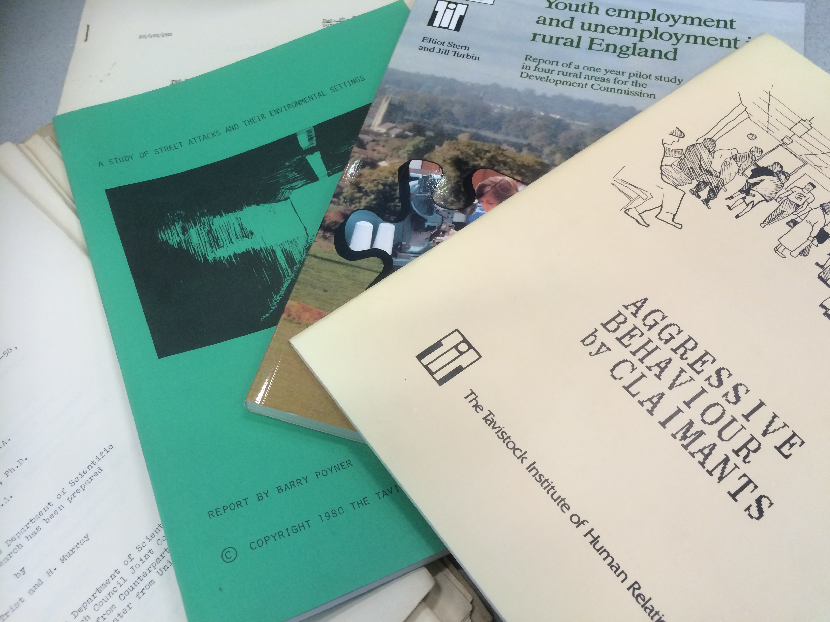 Selection of reports from SA/TIH/B, Tavistock Institute of Human Relations archive