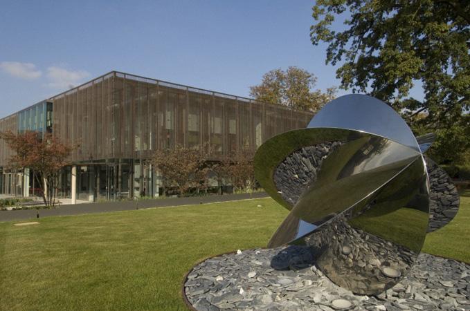 East Wing of the EMBL-European Bioinformatics Institute, Hinxton, Cambridge.