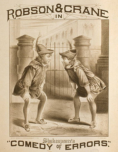 Robson and Crane in Comedy of Errors