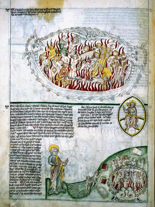 Images in Apocalypse manuscript.