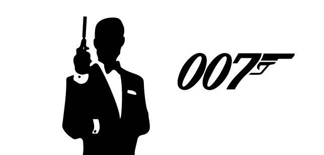 James Bond graphic