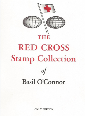 Basil O'Connor stamp album