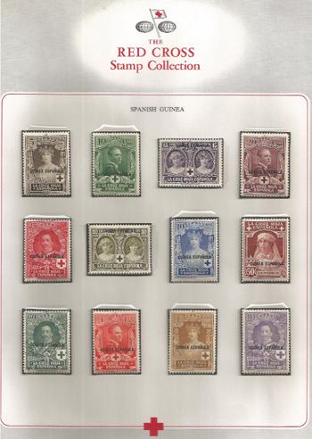 Basil O'Connor's stamp album