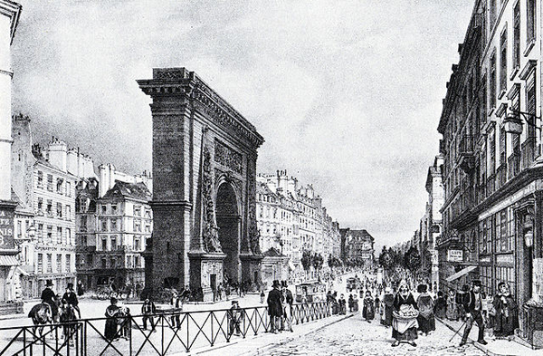 Paris in 1840