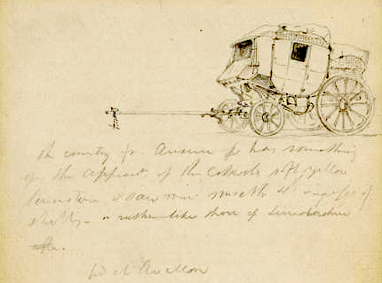 Sketch of a diligence 1817