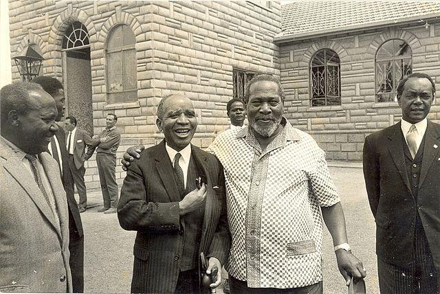 Dr Banda of Malawi and Jomo Kenyatta