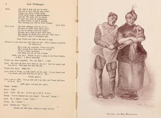 'Dick Whittington, A Pantomime' programme 1915