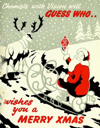 Advertisement for Burgoyne Burbidges, The Chemist and Druggist Journal, December 16 1950.