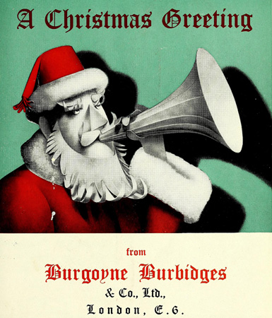 Burboyne Burbidges advert on front cover of The Chemist and Druggist Journal