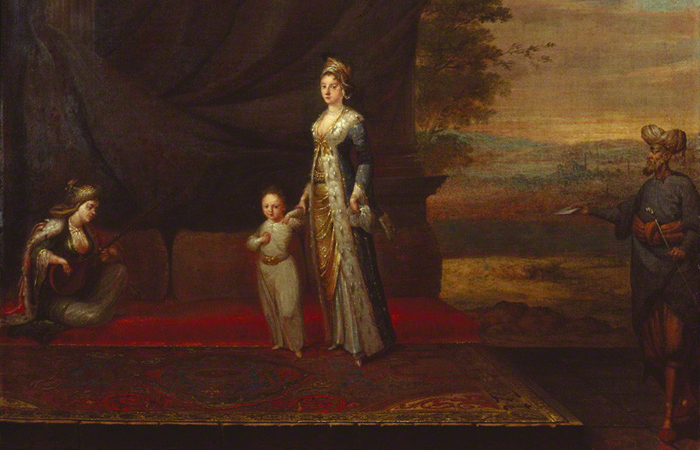 Lady Mary Montague and son