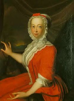 Portrait of Princess Anne of Hanover by Bernardus Accama, 1736 (location unknown). Image credit: Wikimedia Commons.