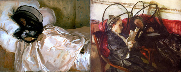 Paintings by Sargent