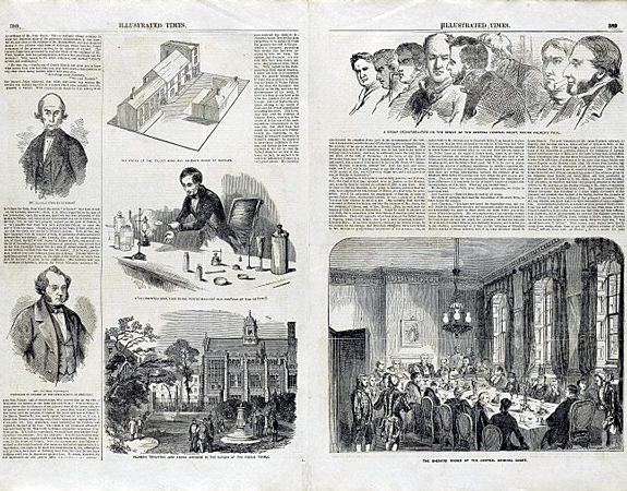 Trial of William Palmer : extra number of the Illustrated Times, Pages 388-389, May 27 1856, Wellcome Images L0075718