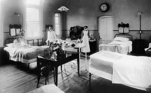 Seamen's Hospital, Royal Albert Dock.