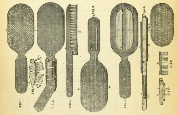 Electric hairbrushes