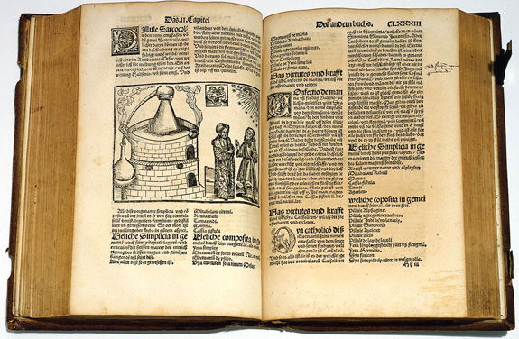 Alchemical image from German book printed in 1512.