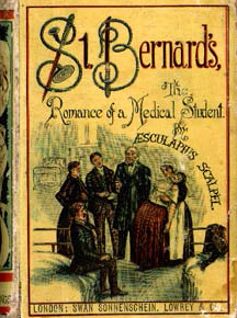 Book cover for 'St Bernard', a medical romance