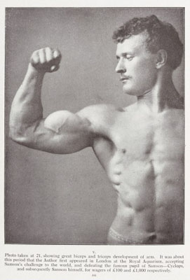 Eugen Sandow: Life of the Author as told in Photographs. Wellcome Images No. L0033345