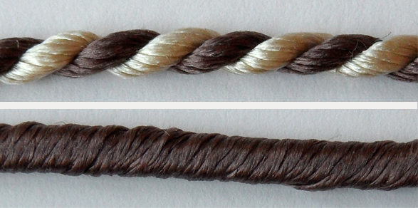 Samples of thread types.