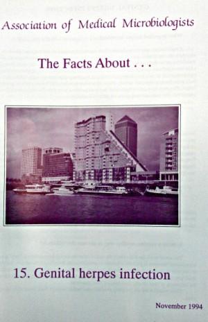 Genital herpes leaflet