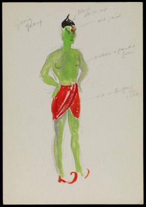 Pantomime costume design: Genie